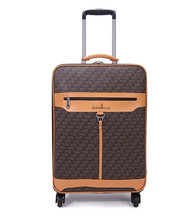 DANXILONG New Men Fashion High Quality Rolling Luggage On Wheels for Women Vintage Travel Trolley Suitcase 18 20 22 24 Inch Bags