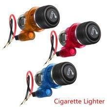 купить 12V 120W Car Motorcycle Cigarette Lighter Power Socket Plug Outlet по цене 341.41 рублей