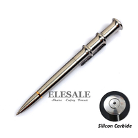 High Quality Portable Stainless Steel Tactical Pen With Silicon Carbide For Glass Breaker Emergency EDC Tool