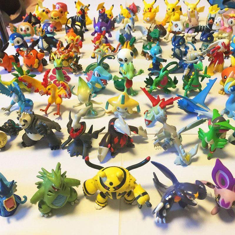Random Send Pokeball Action Figure Kids Toys for Children Birthday Christmas Gifts pokemones Action Figure Toys for Girls Boys 1