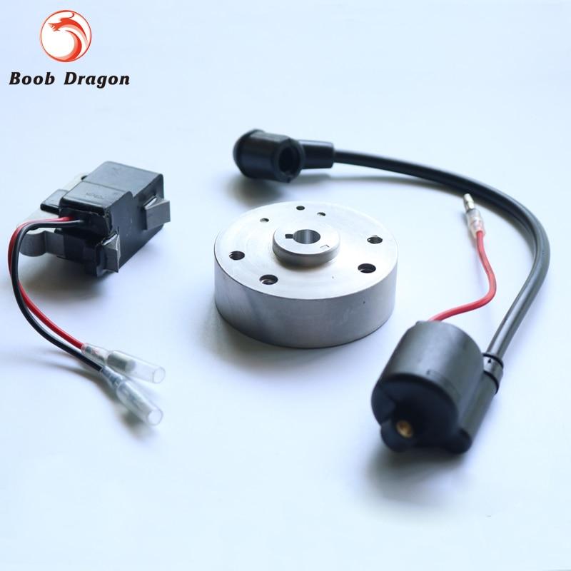 ФОТО RC Boat Ignition coil kit for ZENOAH G260PUM 290PUM RCMK Gasoline Engine