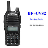 Baofeng UV-82 Walkie Talkie Dual Band VHF UHF 136-174 400-520MHZ 8W Long Range Two Way Radio Waterproof CB Radio FM Transceiver