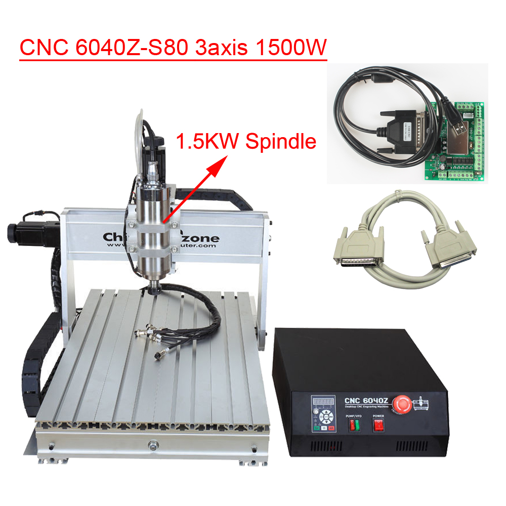 6040 CNC Router Engraver Machine Mini CNC 1.5KW Spindle 3axis USB CNC Carving Wood Engraving Milling Machine Manufacturer cnc router with usb port cnc wood carving machine for pcb wood carving 2030 2 in 1 3axis