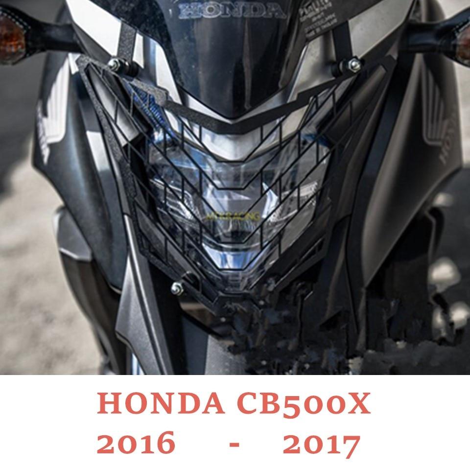 עבור הונדה CB500X CB 500X 2016-2017 אופנוע אביזרי פנס גריל משמר קוב