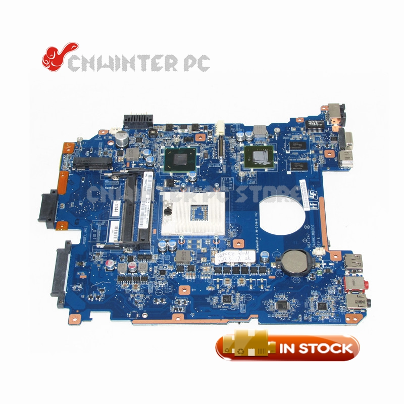NOKOTION MBX-247 Main Board For Sony Vaio PCG-71912L Laptop motherboard DA0HK1MB6E0 A1848625A HM65 DDR3 GT410M GPU