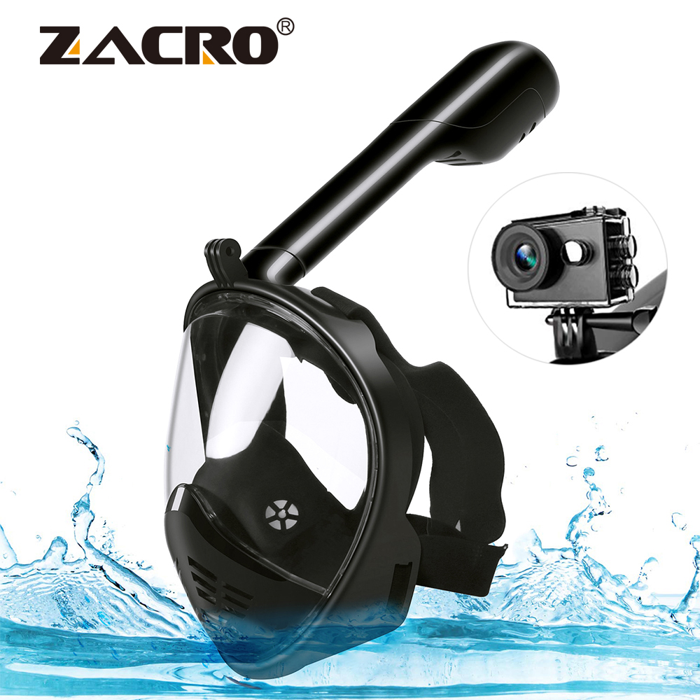 Diving Masks Logical Diving Mask Underwater Scuba Swimming Anti-fog Spray Goggles Professional Anti-fogging Agent Face Diving Mask 2019 New Arrival