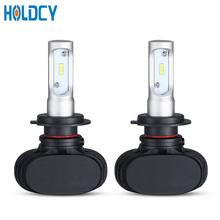1 Pair H7 H11 H9 HB3 9005 H1 P145S LED Headlight Bulb 50W 6500K 8000LM All In One Auto LED Headlamp Bulbs Fog Lights 12v itimo 40w each bulb headlamp all in one version of x7 led headlight super bright car styling h11
