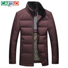 Cartelo/marke Slim 90% Ente S-xxxl Mittleren ag Lässige Daunenjacke Seto Kaninchen Winter Männlichen Jacken warmen Dicken Mantel