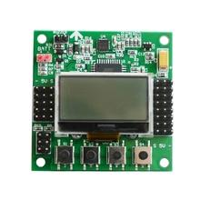 Kk1.1.5 LCD Multirotor KK Placa de control de vuelo KK 1.1.5 más nuevo V1.17S1 Quadcopter kkk2 6050MPU 644PA KK KK2.15
