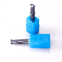 Augusttools Mill Cutting HRC55 2 Flute Alloy Carbide Tungsten Steel Milling Cutter End Tools Metal 4mm 6mm