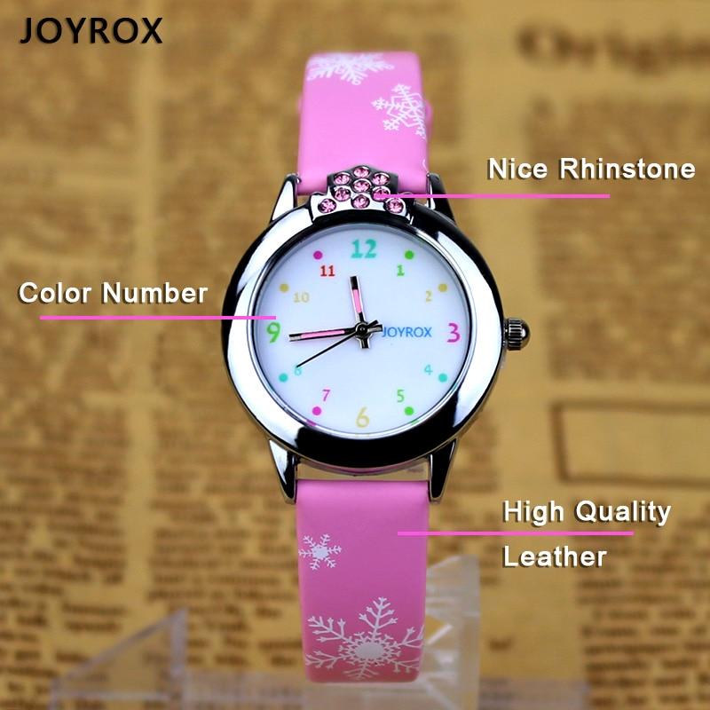 JOYROX 6 kleuren kinderen polshorloge 2018 nieuwe cartoon quartz kind - Kinderhorloges - Foto 4