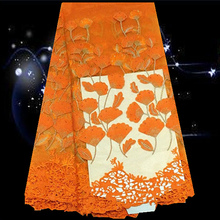 (5yardslot) SHLN10,African net lace fabric,Nigerian mesh lace fabric for wedding dress,African tulle embroidered lace fabric