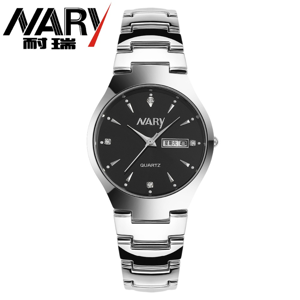 NEW 2016 NARY watches men Top Brand fashion watch quartz watch male relogio masculino Calendar Watches men's Casual Wrist watch 2017 new top fashion time limited relogio masculino mans watches sale sport watch blacl waterproof case quartz man wristwatches