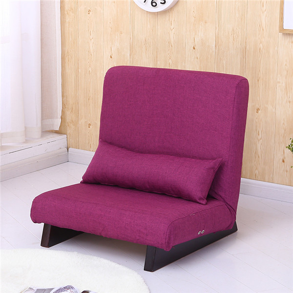Floor Foldable Single Sofa Reclining Modern Fabric Japanese Sofa