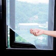 5 м Анти Москитная сетка для окна, сетка для экрана, занавеска s, защитная занавеска, летающий экран, вставка, ошибка, сделай сам, съемный моющийся оконный экран