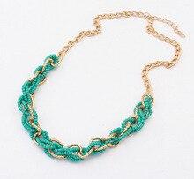 2020 Роскошные модные бусы короткое массивное ожерелье для женщин ручной работы из бисера колье подарок 1N107