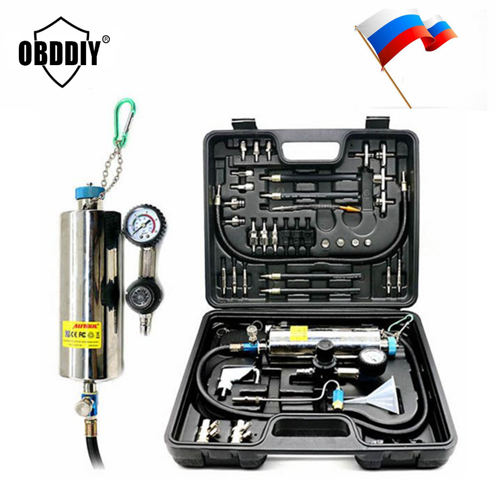 Universal Automotive Non Dismantle Fuel System Cleaner Auto gasonline Injector Clean tool For Petrol Cars