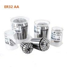 купить High quality elastic collet ER20AA 4mm 6mm 8mm 10mm 12mm CNC machine engraving machine motor shaft cutter bar clamp chuck по цене 362.13 рублей