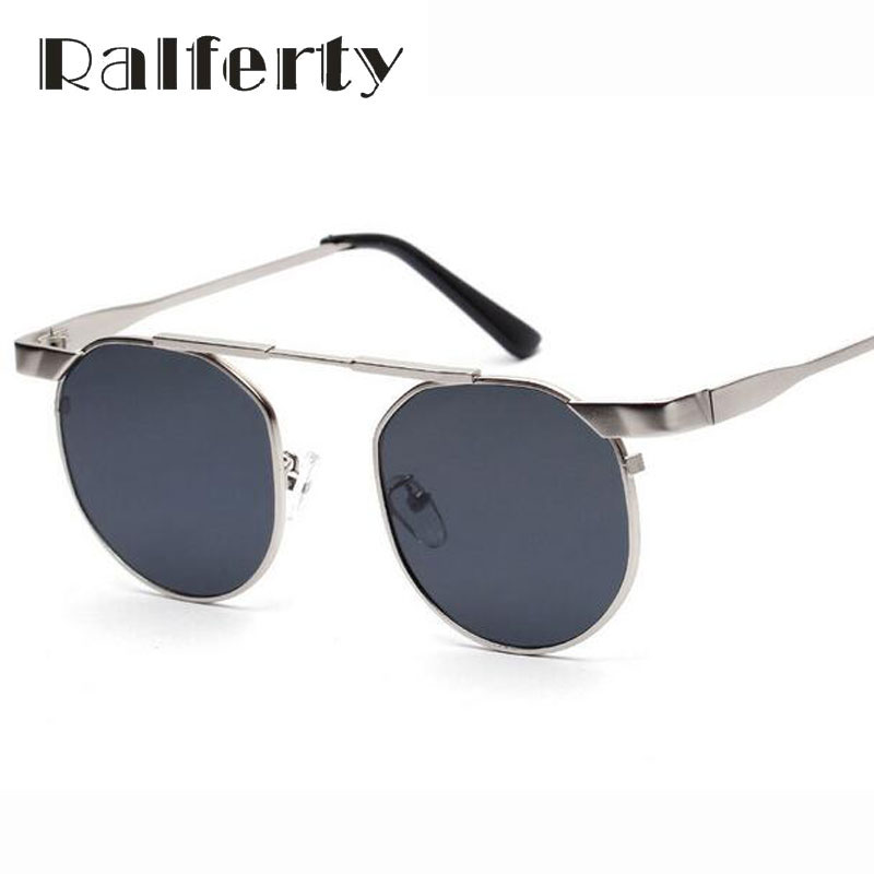 Ralferty Mens Vintage Retro Rodada Óculos De Sol Óculos de Sol Masculino  Esporte Ao Ar Livre Pesca Óculos lunettes oculos Shades Preto 5321 ada0afd611