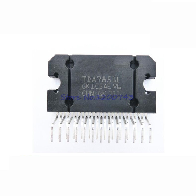 1pcs/lot TDA7851 ZIP TDA7851L ZIP-25 TDA7851F TDA 7851L In Stock