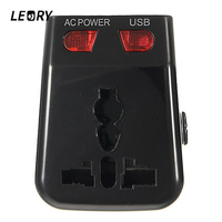 LEORY World Travel Adapter All In One Dual 2 USB Plug Charger Universal Plug Power Converter