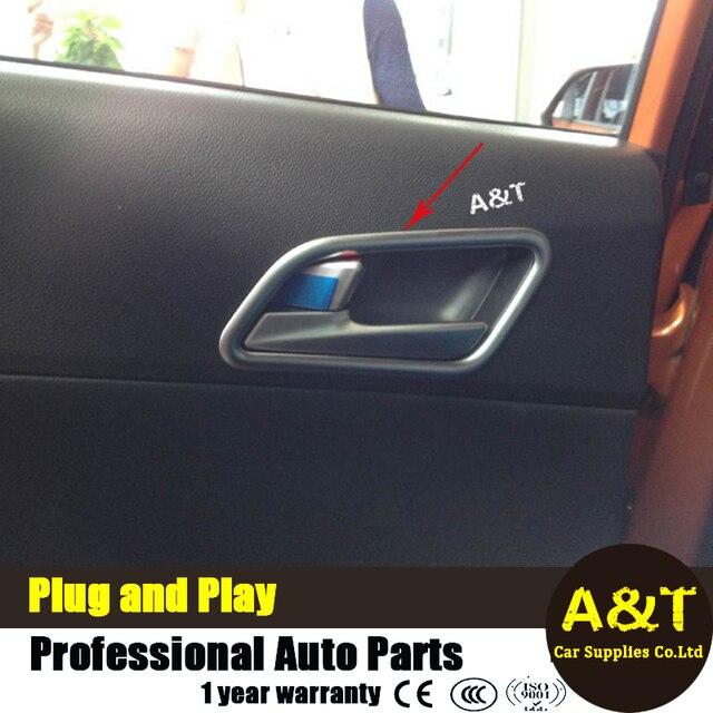 JGRT For Hyundai IX25 Door handle decorative frame trim ABS car ...