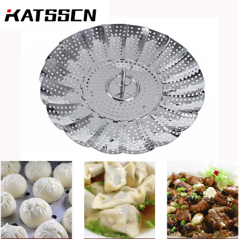 Practical Telescopic Steaming Basket Stainless Steel Steamers OXO Good Grips Stainless Steel Steamer 88