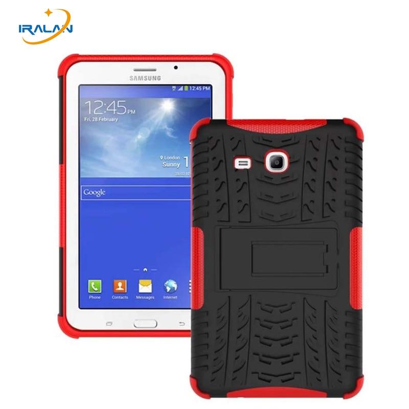 2018 Nouveau Cas De Silicone Pour Samsung Galaxy Tab 3 Lite 7.0 T110 T111 7 pouce Couverture Pour Samsung Tab 3 Lite SM-T113 T116 + film + stylo
