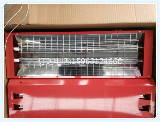 Booth special carbon fiber infrared heat lamp heat lamp double ...