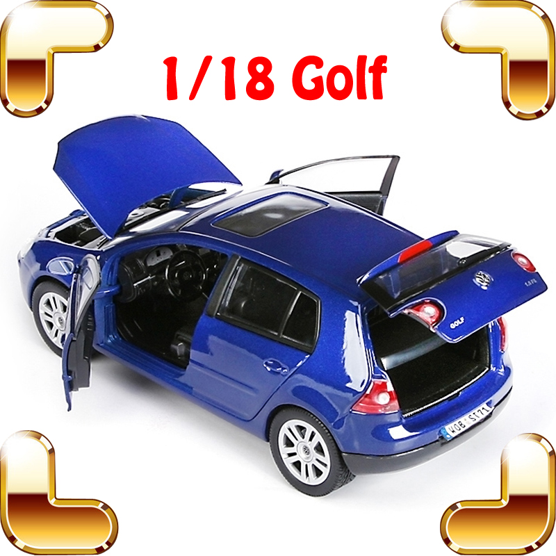 New Year Gift GTI 1/18 Metal Model Car Sedan Vehicle Collection Alloy Diecast Luxury Detail Present Toys Car Decoration Simulate maisto jeep wrangler rubicon fire engine 1 18 scale alloy model metal diecast car toys high quality collection kids toys gift