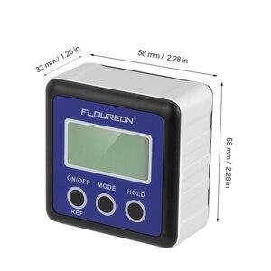 Image 5 - Kỹ Thuật Số Cấp Độ Tinh Thần Hộp Cơ Inclinometer Protractor Điện Tử Goniometer Vuông Nghề Mộc Dụng Cụ Thước Góc Measurment