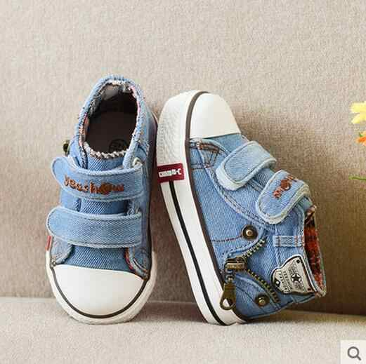 2019 autumn child sport shoes male female small sneakers children casual shoes breathable baby canvas shoes brand kids boots