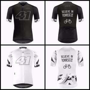 Cycling Clothing 2018 Mountain Bicycle Jersey Pro Black White Team Jersey 44c58af7a3861