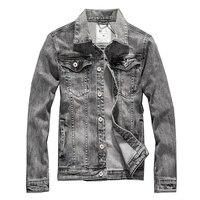 Autumn Mens Jackets Denim Winter Male Jeans Jackets Mens Bomber Jacket Vintage Blue Outwear Coat And Jackets For Men