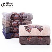 de3f639d3 Disney Piratas do Caribe 100% Algodão toalha de rosto toalha Absorvente  adulto Criança toalha de Banho Toalha de Mão de Viagem D..