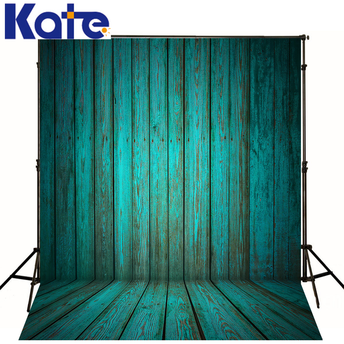 photography backdrops Green background of wood wood brick wall backgrounds for photo studio