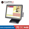 15 Inch All In One Pc Pos Terminal Pos System Touch Screen Cash Register With MSR POS2119