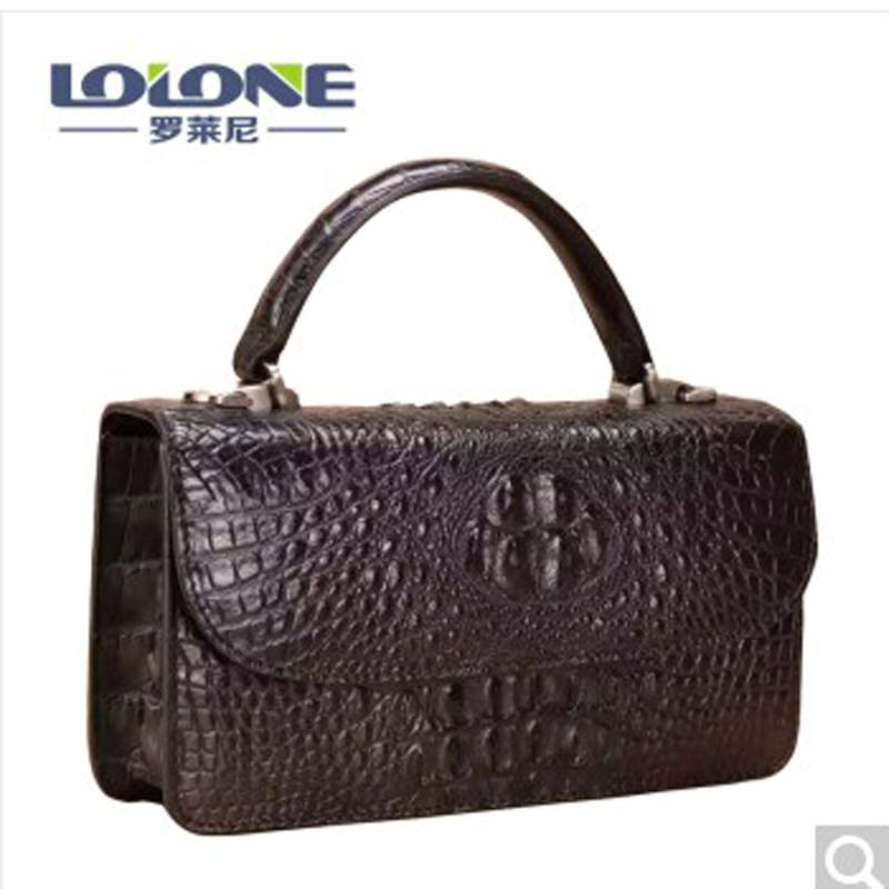 luolaini Autumn New Alligator leather single shoulder women bag women handbag women bag цена