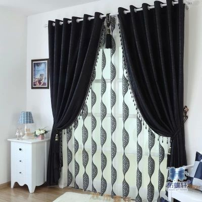 Green Curtains black green curtains : Aliexpress.com : Buy Black green embossed full blackout curtains ...