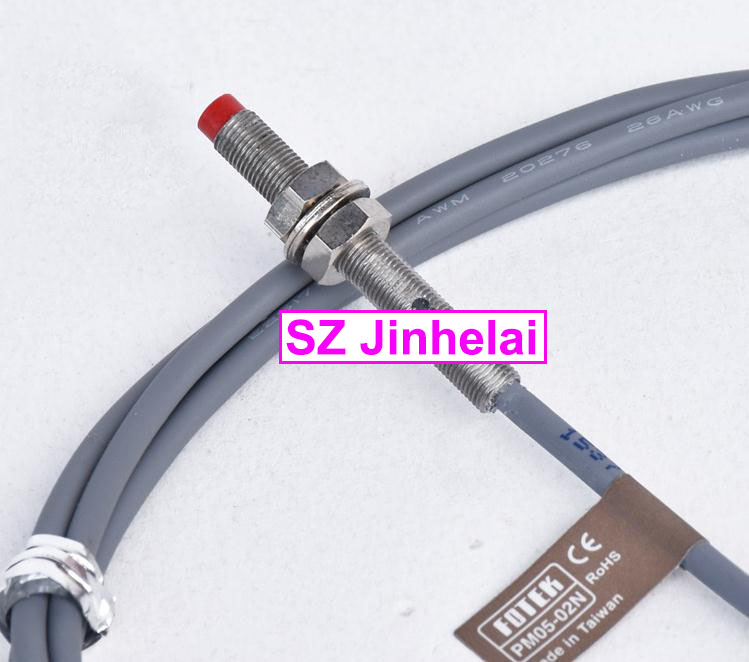 100% New and original FOTEK  PROXIMITY SWITCH  PM05-02N new original proximity switch im12 04bns zw1
