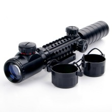 Rangefinder Reticle Shotgun Air Hunting Rifle Scope With Lens Cover New 3-9x32EG Riflescope Red & Green Illuminated