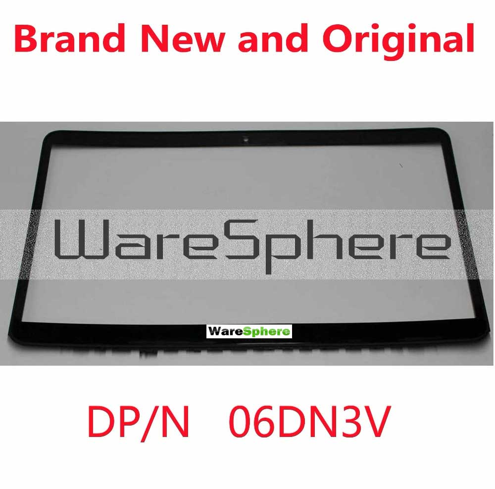 NEW LCD Front Bezel W/ Webcam Port for Dell Inspiron 15 7547 7548 CN-06DN3V 6DN3V 06DN3V 3CAM6LBWI10 Black Touch new original 11 1v 43wh d2vf9 0pxr51 battery for dell inspiron 15 7547 free shipping