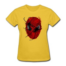 Short Sleeve Crawly Eyes Women's t shirt On Sale Funny Girlfriend tee shirts