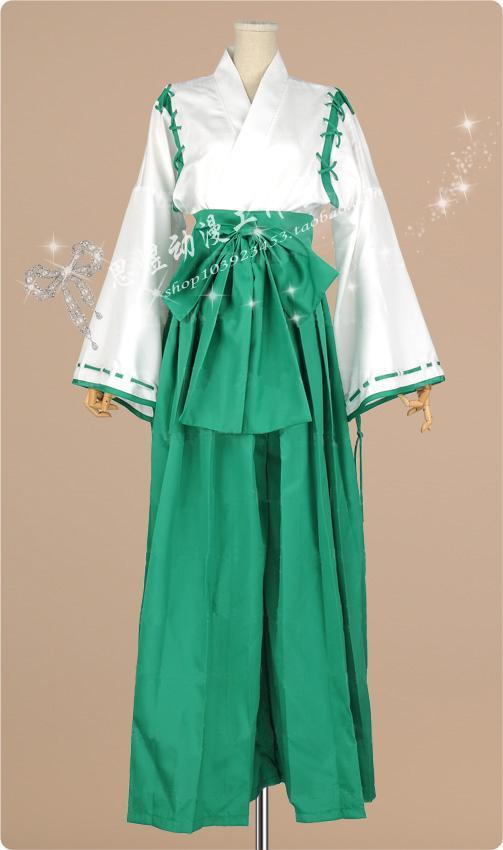 Hot Anime Campione! cosplay Wan Li Gu Youli cos Halloween party Japanese kimono Unisex costume (tops+pants+belt+bow)