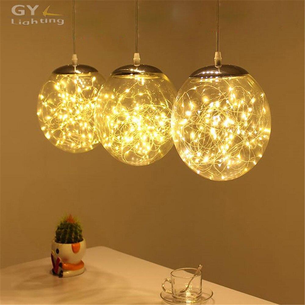 Modern Art Deco Kitchen Dining Room Led Chandelier 29W LED