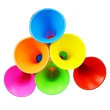 Multicolor Adjustable Horns 15 pcs/set