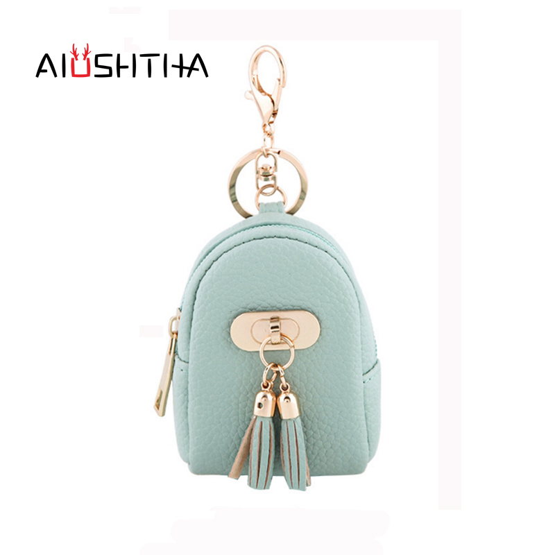 tassel coin purses women wallets mini small money bags of famous designer brand card key headset holder bulk price high quality