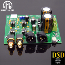 ES9028Q2M DAC board for hifi amplifier decoder XLR out I2S Input supports I2S 32bit 192K DSD64 128 256