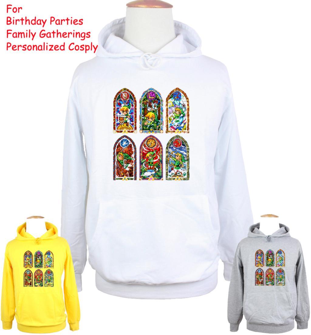 Unisex The Legend of Zelda Design Hoodie Mens Boys Womens Ladys Girls Sweatshirt Tops Printed Hoody