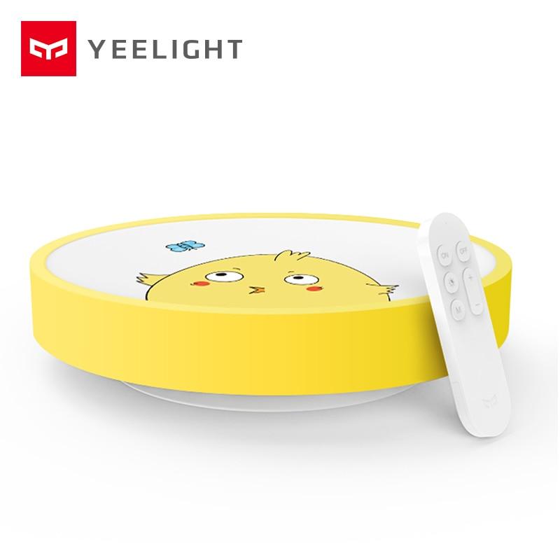 Оригинальный Xiaomi yeelight Дети Потолочный светильник IP60 пыле WI-FI и Bluetooth Беспроводной mijia Умный дом приложение Дистанционное управление